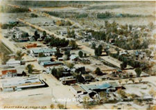 Aerial view of Scottsdale - 1936