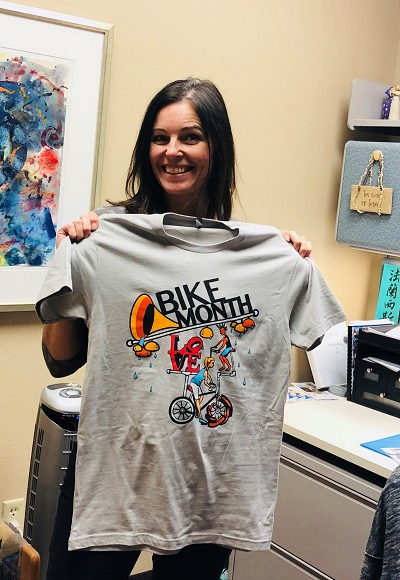 Picture of Scottsdale Bike to Work T-shirt
