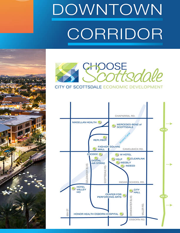Downtown Scottsdale Corridor Brochure
