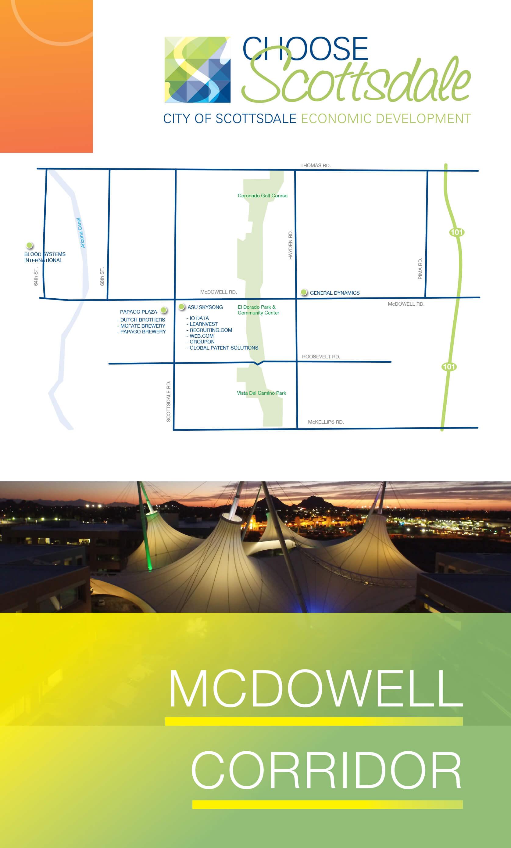 McDowell Road Corridor Brochure