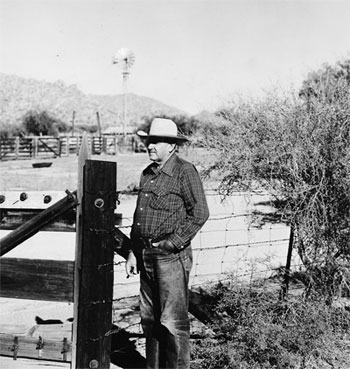 E.E. Brown at Brown's Ranch