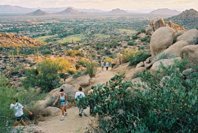 Hiking Pinnacle Peak - Scottsdale
