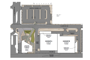 Airport redevelopment plan