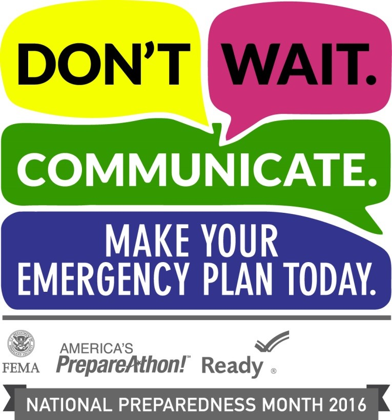 National Prepareness Month 2016