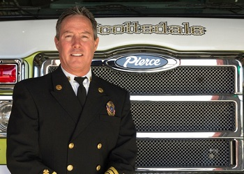 Fire Chief Tom Shannon