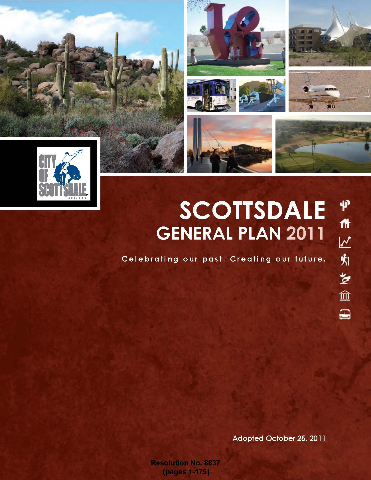 2011 Scottsdale General Plan Cover Art