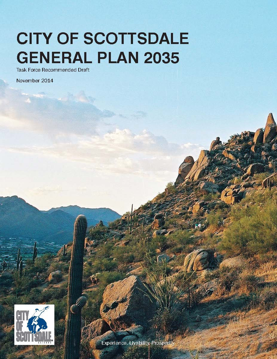 2035 Scottsdale General Plan Draft Cover Art