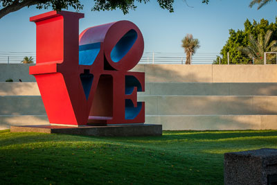 LOVE Sculpture