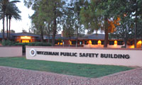 PD Headquarters Evening
