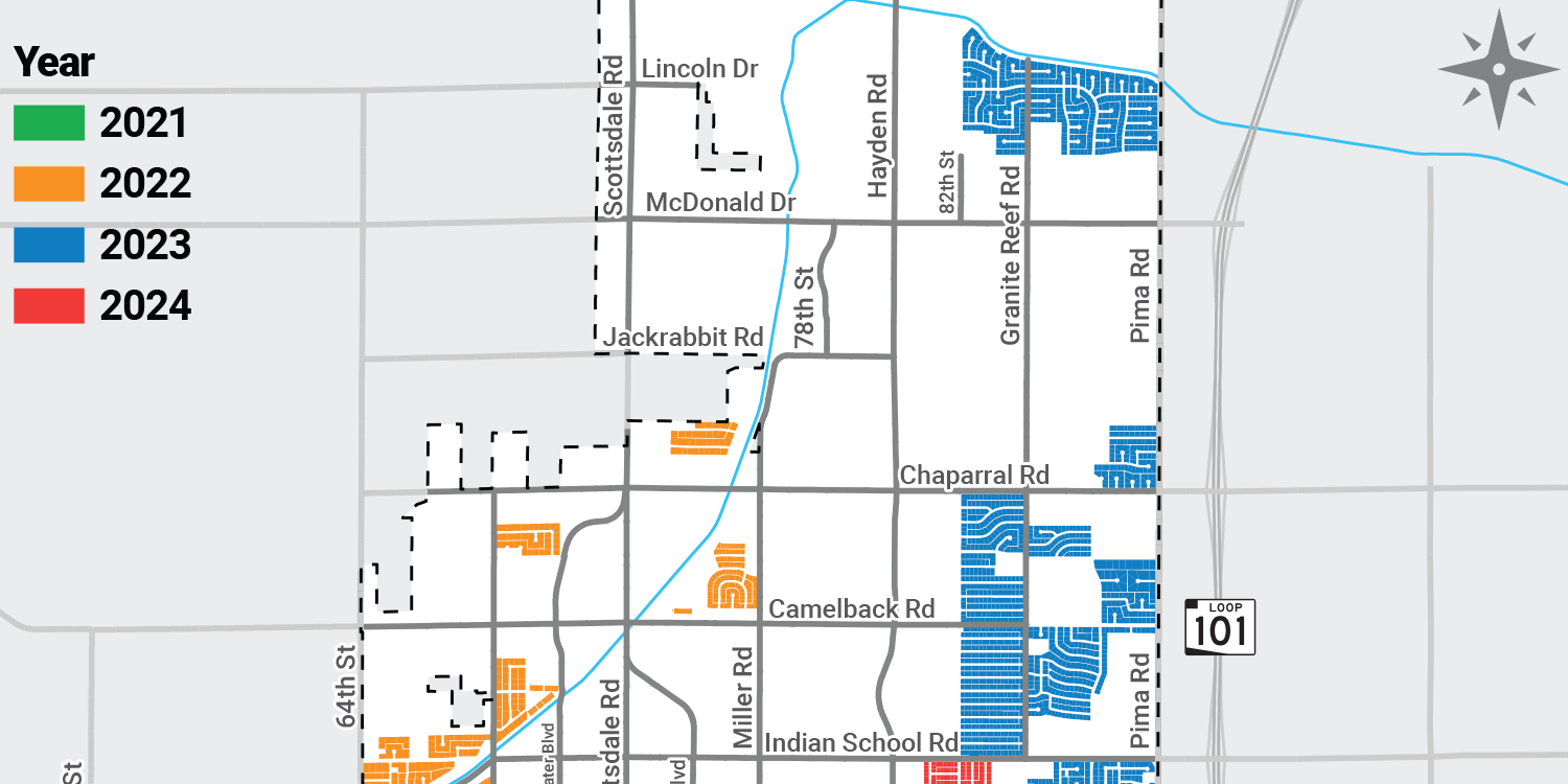 thumbnail of Alley to Curbside Schedule and Rollout Map