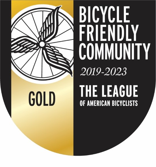 Bicycle Friendly Community Gold Award