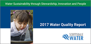 Water Quality Report 2015 cover