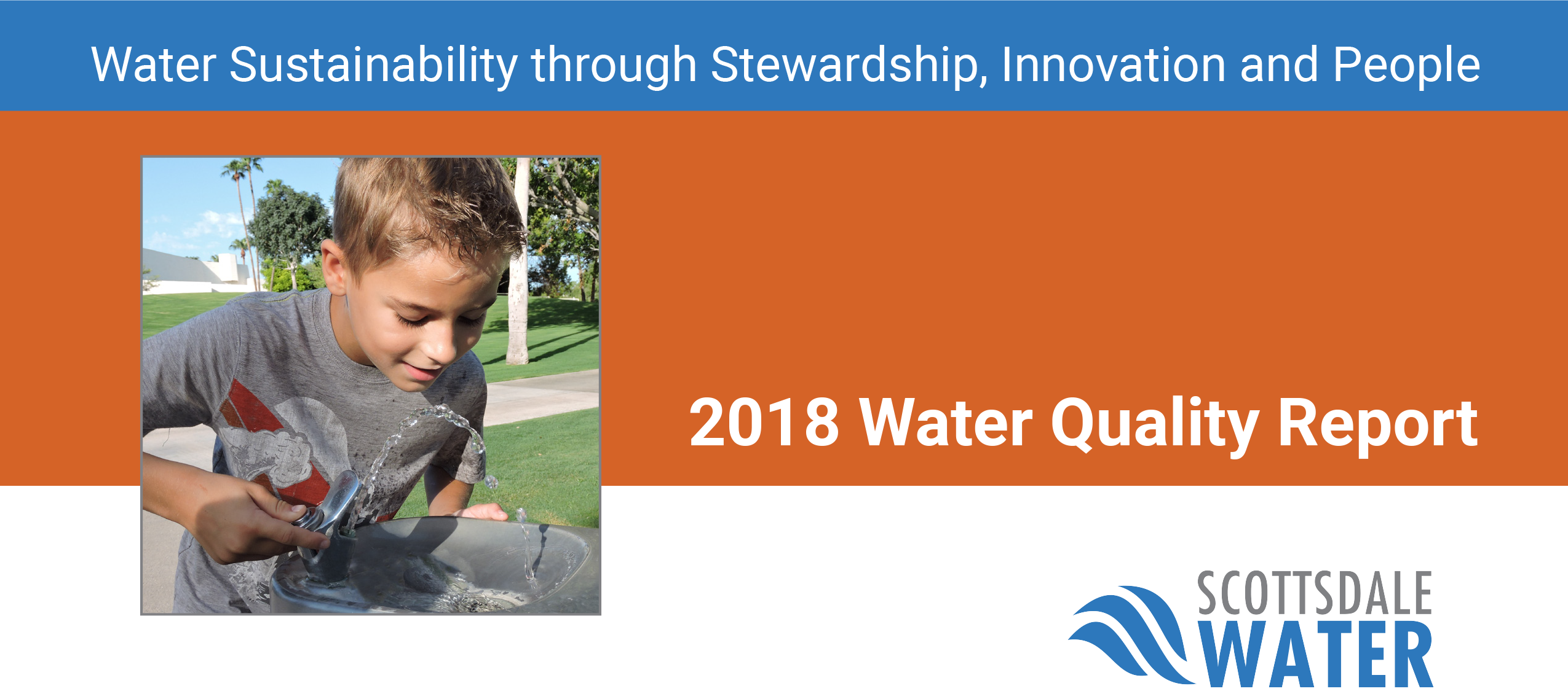 Water Quality Report 2018 cover